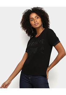 Camiseta Acostamento Fashion Feminina - Feminino