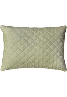 Porta Lola Home Travesseiro Linen Verde