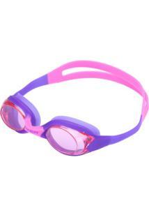 Óculos De Natação Oxer Block - Infantil - Rosa/Roxo