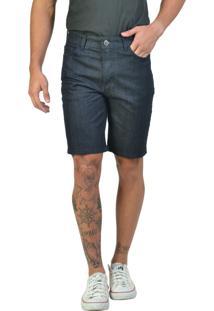 Bermuda Jeans Slim Preta Yck'S