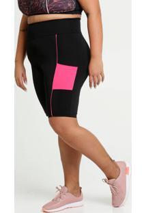 Bermuda Feminina Fitness Plus Size
