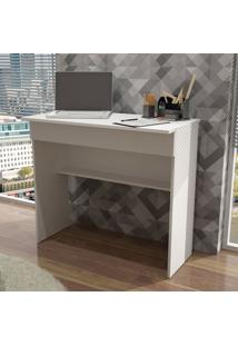 Mesa Para Computador 1 Gaveta Bho 21-06 Branco Fosco - Brv Móveis
