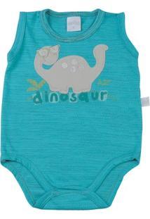 Body Bebê Malha Semitons Dinosaur - Feminino