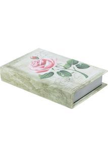 Livro Caixa Rosa Bege