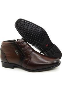 Sapato Social Executivo Couro Macio Confort Keffor Masculino - Masculino