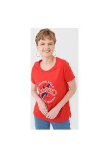 Camiseta Cantão Classic Original Vermelha