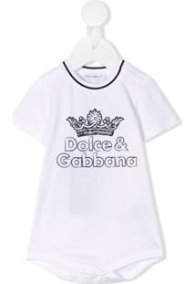 Dolce & Gabbana Kids Logo Body - Prateado