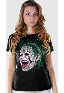 Camiseta Dc Comics Bandup! Esquadrão Suicida The Joker Prince Of Crime - Feminino