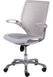 Cadeira Office Age- Branca- 100X60X48Cm- Or Desior Design