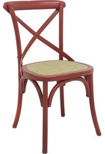 Cadeira Katrina Vermelha Rivatti Móveis