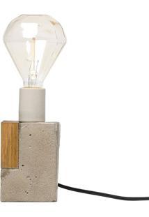 Luminária - Concrete Diamond