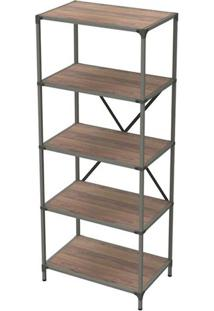 Estante Livro Industrial Decor Peanut 1,80 Mt (Alt) - 34020 - Sun House
