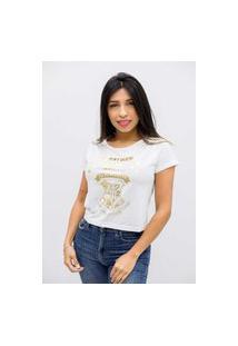 Camiseta Sideway Harry Potter - Branca