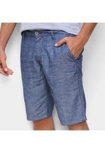 Bermuda Jeans Colcci Noah Masculina - Masculino-Azul