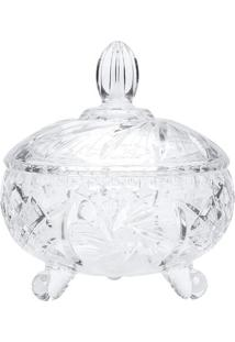 Bomboniere Prima Luxo- Cristal- 16,5Xø18,4Cm- Lylyor
