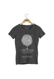 Camiseta Forseti Estonada Digital Chumbo