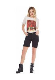 Bermuda Slim Basica Jeans 34