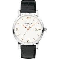 83c7621aff4 Relógio Montblanc Masculino Couro Preto - 110717