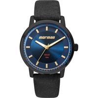 5a4c263a3bdbb Relógio Mormaii Analógico Mo2035Ia-2A Feminino - Feminino-Preto+Azul