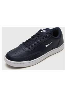 Tênis Nike Sportswear Court Vintage Azul-Marinho