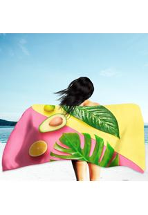 Toalha De Praia / Banho Palm Summer