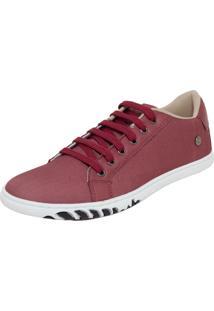 a2451b3b6 Sapatênis Marsala Textura masculino   Shoes4you