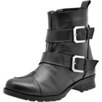 3986ad728 Coturno Cano Medio Motociclista feminino | Shoes4you