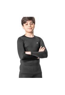 Camisa Poker Térmica Skin Ii Infantil