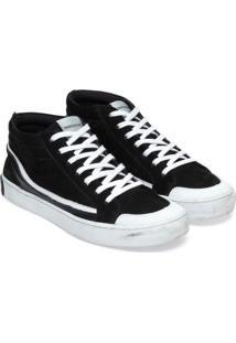 Tênis Ckj Masc Couro Low Skate Sneaker - 37