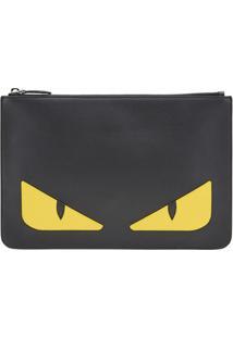 Fendi Clutch Bag Bugs - Preto