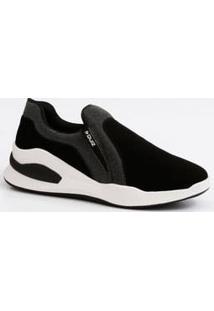 Tênis Feminino Chunky Sneaker Nobuck Quiz