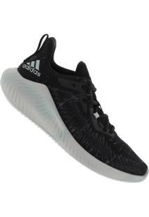 Tênis Adidas Alphabounce+ Parley - Feminino - Preto/Branco