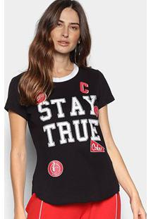 Camiseta Coca-Cola Stay True Feminina - Feminino