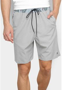 Bermuda Hurley Volley Electric Masculina - Masculino