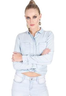 Camisa Jeans Calvin Klein