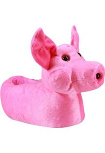 Pantufa Infantil Du Rei Porquinho