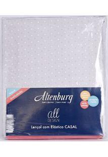 Lençol Avulso Casal Altenburg All Design Cinza