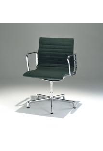 Cadeira Com Braços Giratória Ea120 Alumínio Studio Mais Design By Charles E Ray Eames
