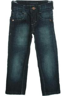 Calça Jeans Skinny - Masculino-Azul
