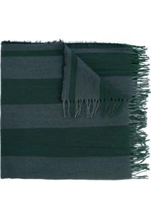 Uma Wang Echarpe Listrada - Verde