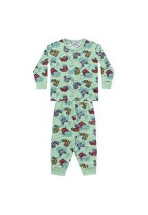 Pijama Infantil Desenho Divertido - Fkn Sleep We