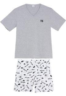 Pijama Masculino Lua Encantada Algodão Carros