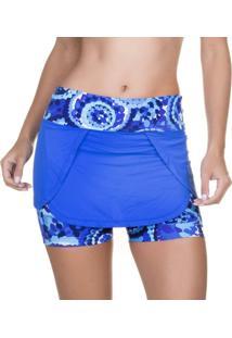 Short Saia Azul | 490.8112