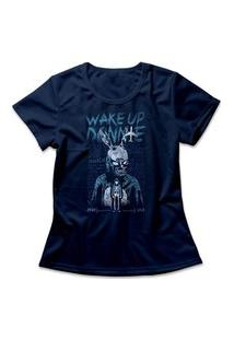 Camiseta Feminina Donnie Darko Azul Marinho