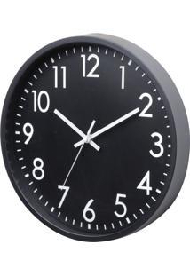 Relógio Ralph Preto E Branco 25X25X3,8 Cm