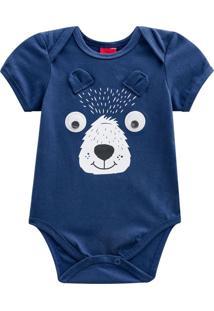 Body Bebê Azul Kyly