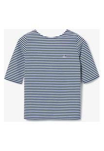 Camiseta Lacoste Live Branco