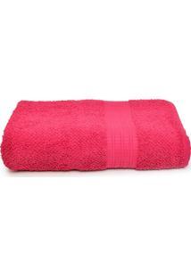 Toalha De Banho Gigante Buddemeyer Frape 90X150Cm Rosa