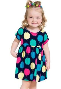 Vestido Infantil Kyly Meia Malha 110005.4372.3