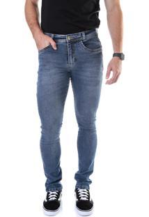 Calça 2258 Jeans Skinny Traymon Azul